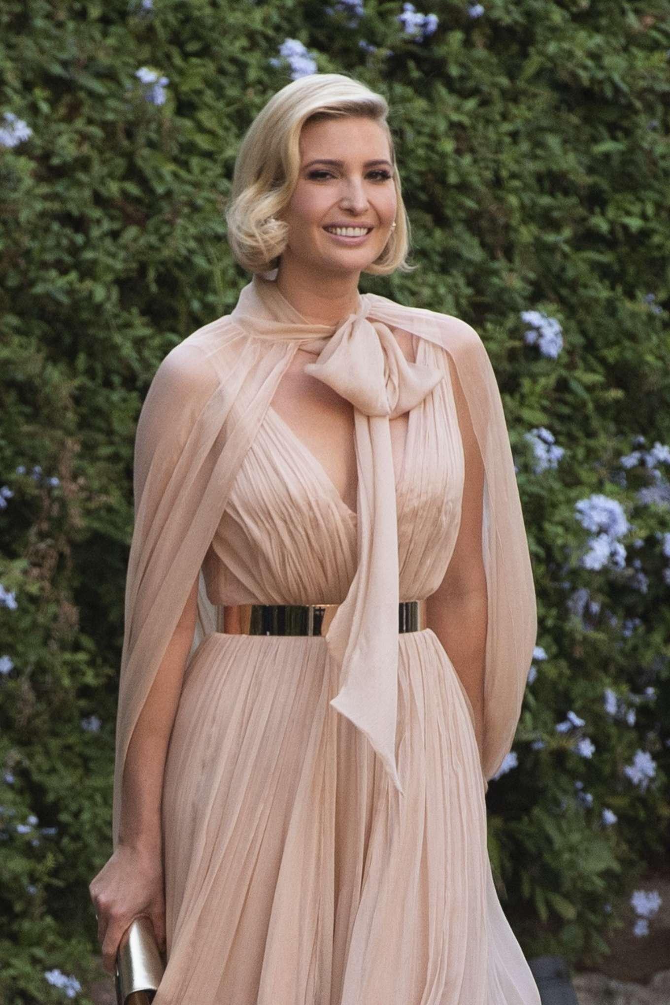 Ivanka Trump - Attend Misha Nonoo's wedding in Rome