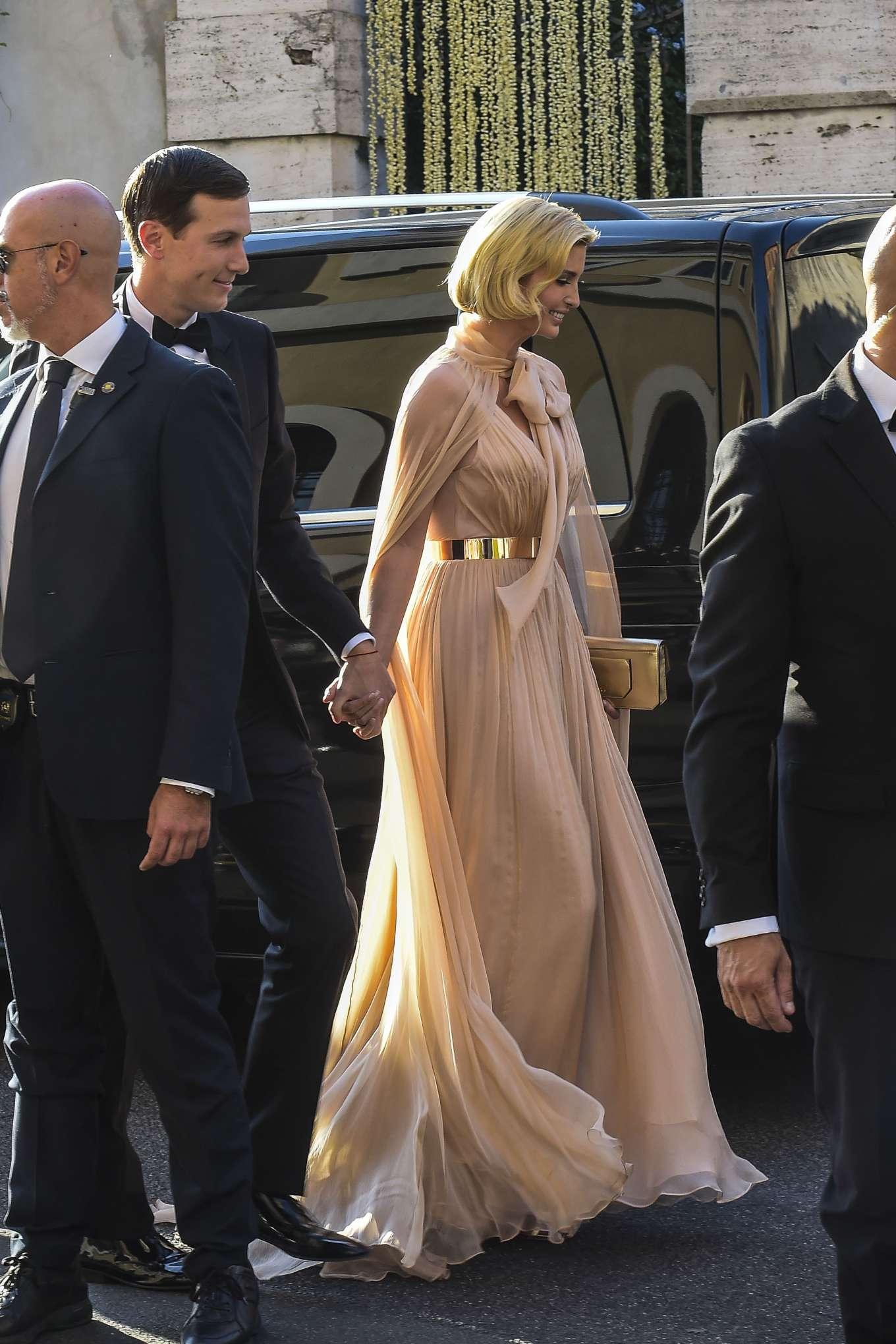Ivanka Trump 2019 : Ivanka Trump – Attend Misha Nonoos wedding in Rome-09