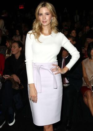 Ivanka Trump - Carolina Herrera Fashion Show 2015 in NYC