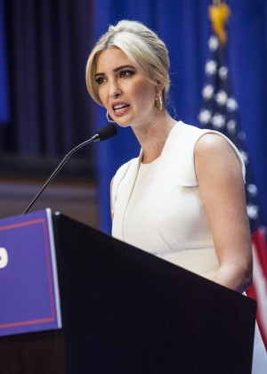 Ivanka Trump - Donald Trump announces run for president in NYC