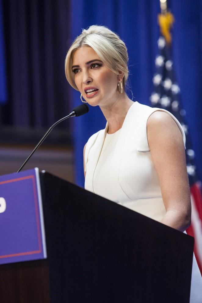Ivanka Trump - Donald Trump announces run for president in NYC