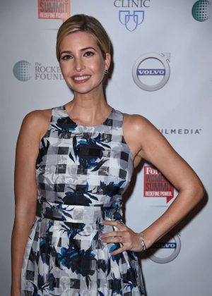 Ivanka Trump - Forbes Women's Summit in NYC