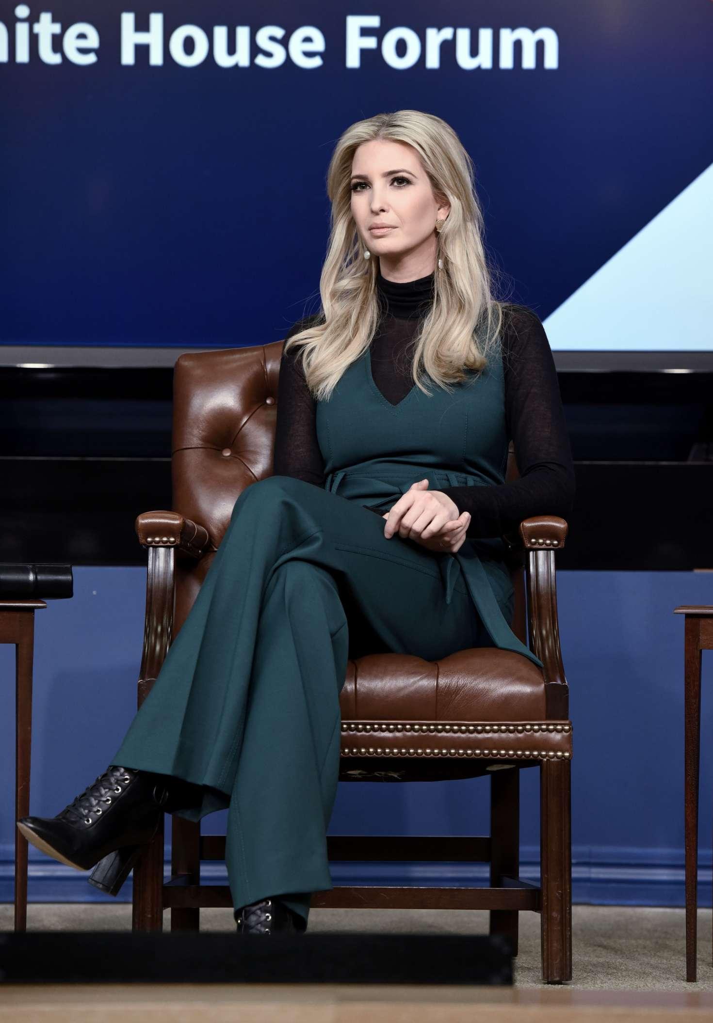 Ivanka Trump 2018 : Ivanka Trump: Generation Next: A White House Forum -05