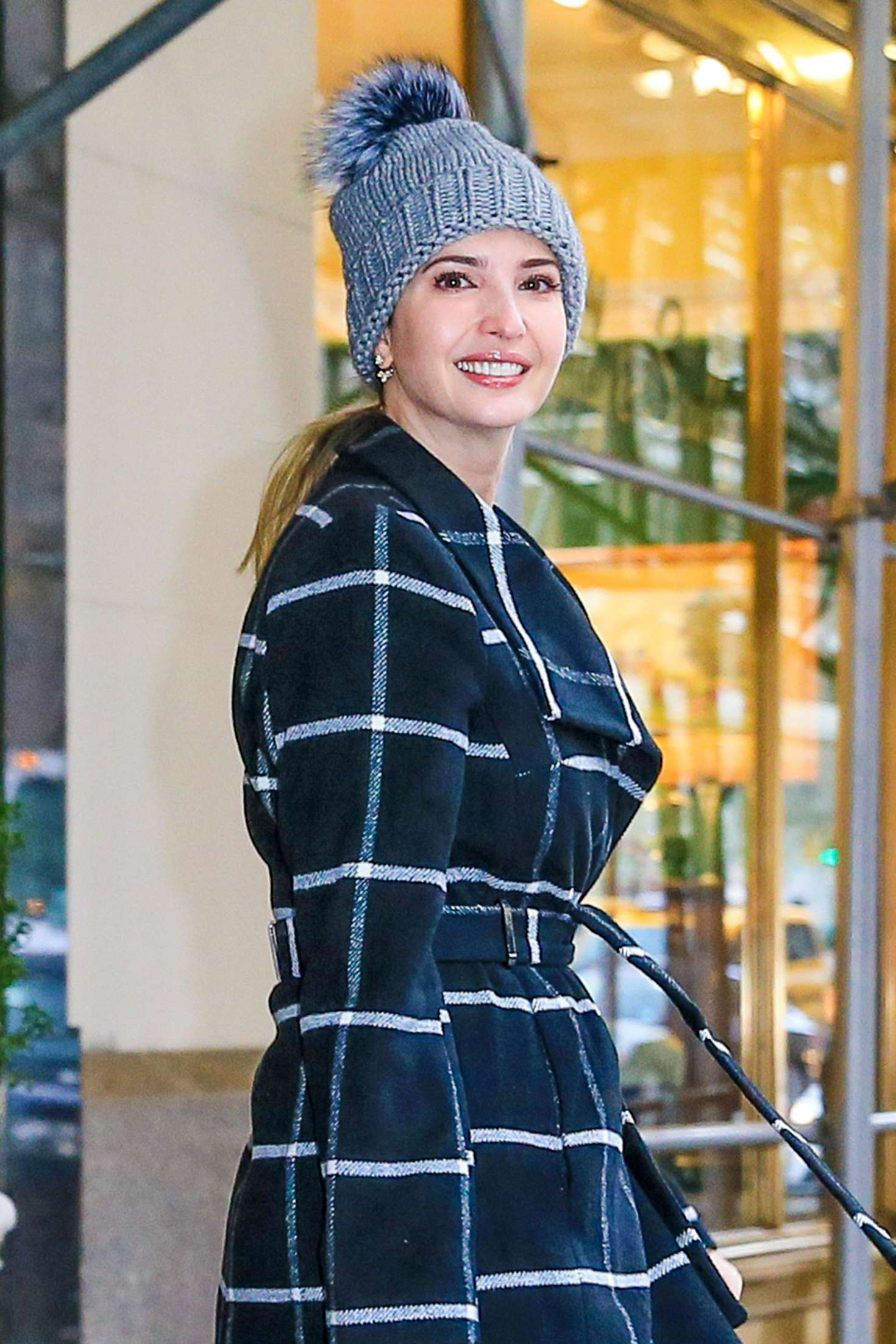 Ivanka Trump head out to work in New York City