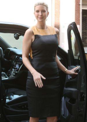 Ivanka Trump heading to Trump SoHo Hotel in New York