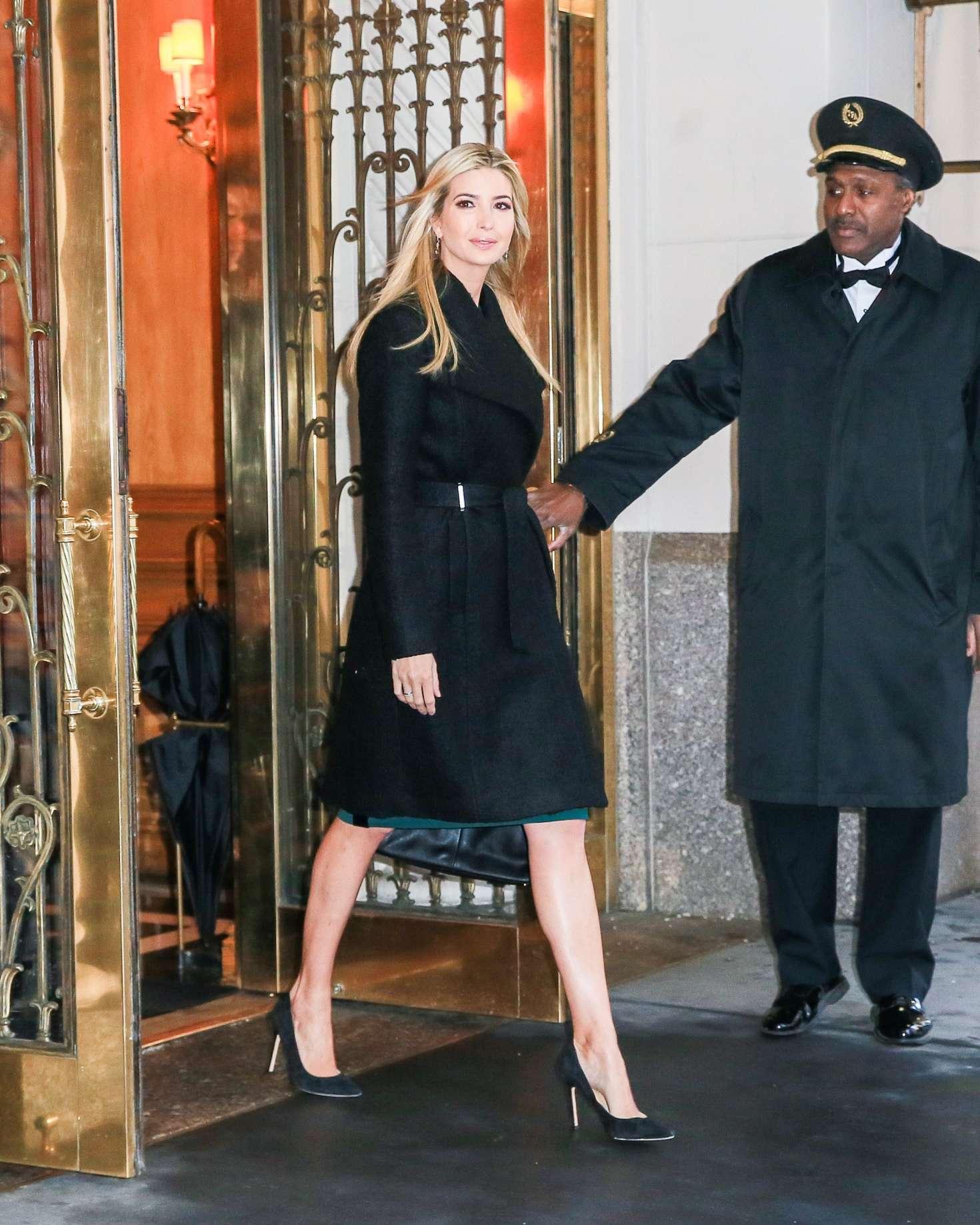 Ivanka Trump 2017 : Ivanka Trump: Heads To Work in New York -01