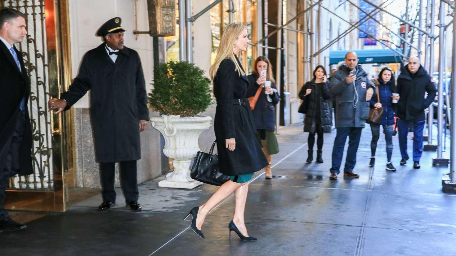 Ivanka Trump 2017 : Ivanka Trump: Heads To Work in New York -02