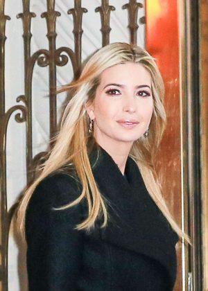 Ivanka Trump - Heads To Work in New York