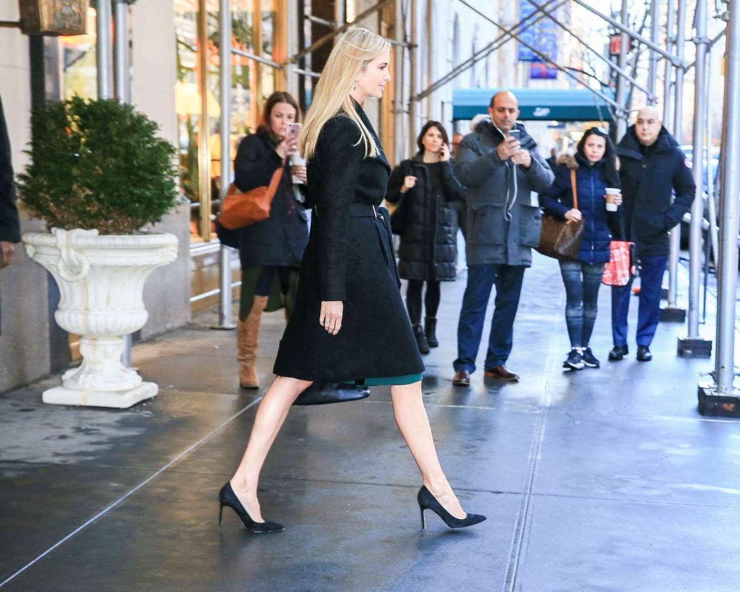 Ivanka Trump 2017 : Ivanka Trump: Heads To Work in New York -07