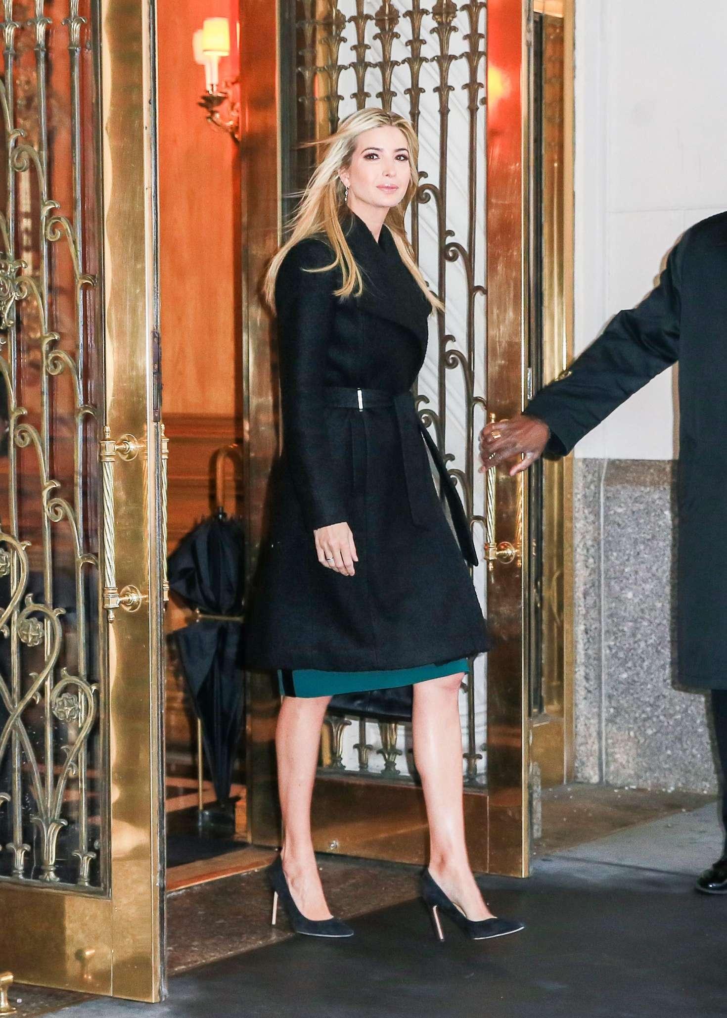 Ivanka Trump 2017 : Ivanka Trump: Heads To Work in New York -09