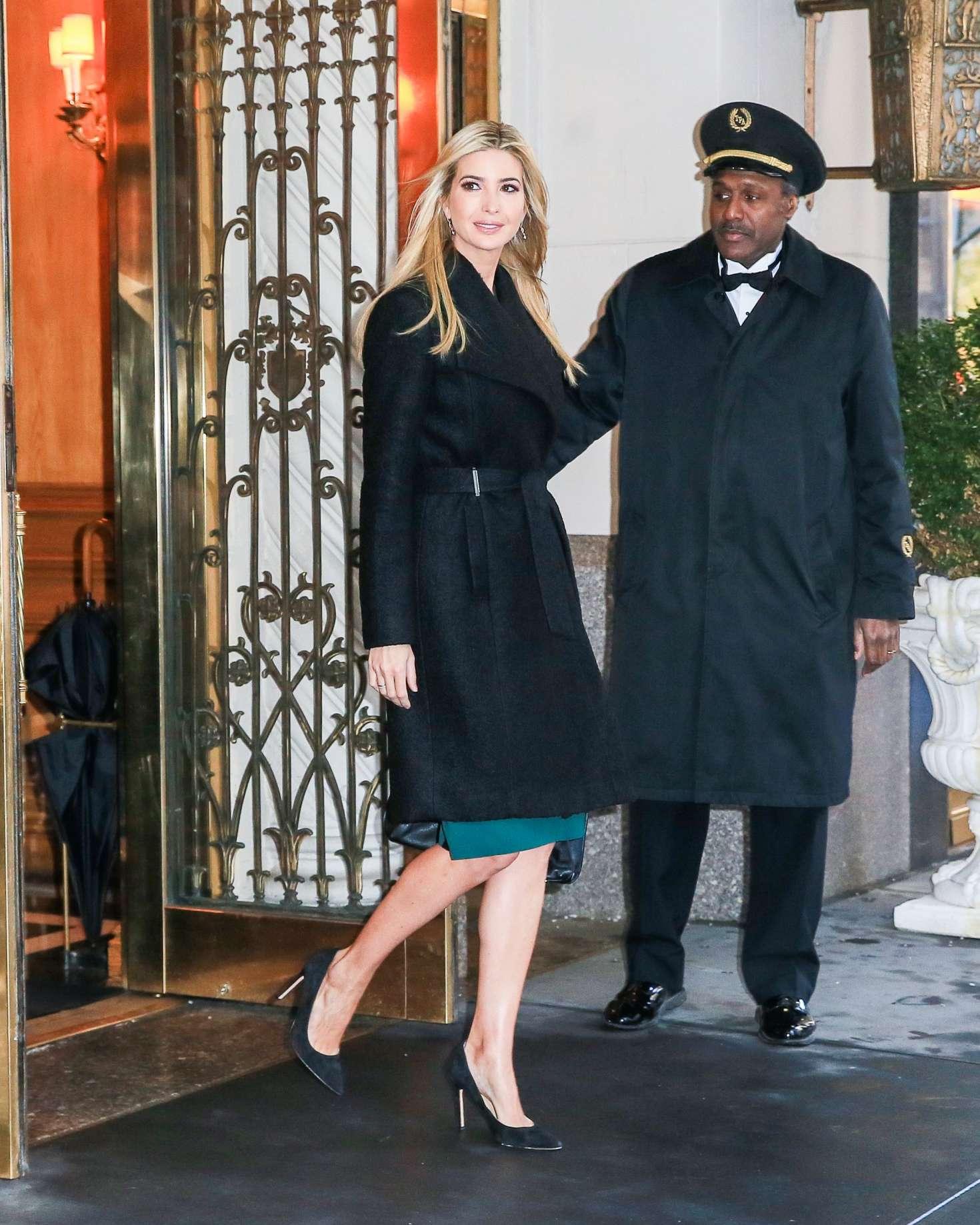 Ivanka Trump 2017 : Ivanka Trump: Heads To Work in New York -11