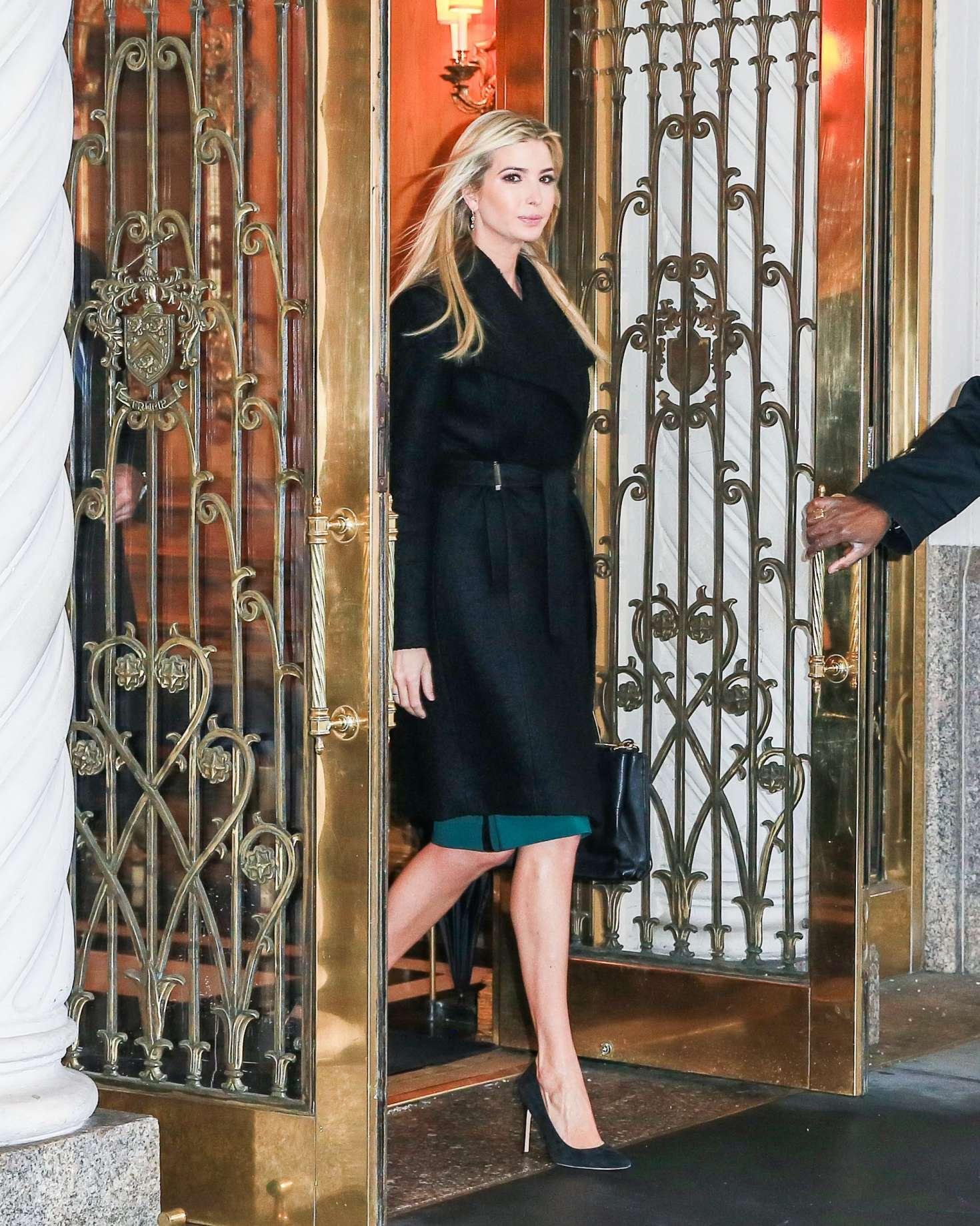 Ivanka Trump 2017 : Ivanka Trump: Heads To Work in New York -15