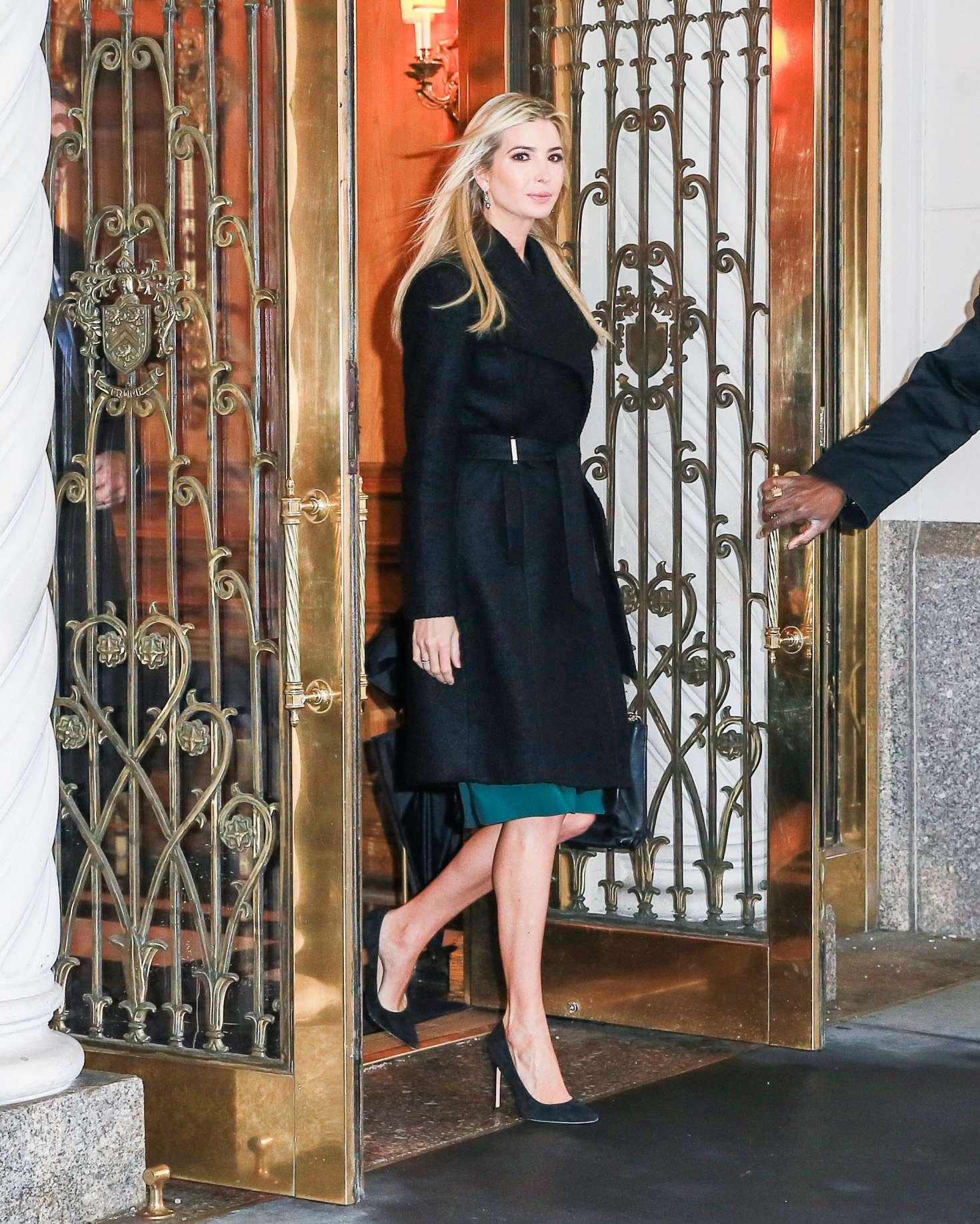Ivanka Trump 2017 : Ivanka Trump: Heads To Work in New York -16