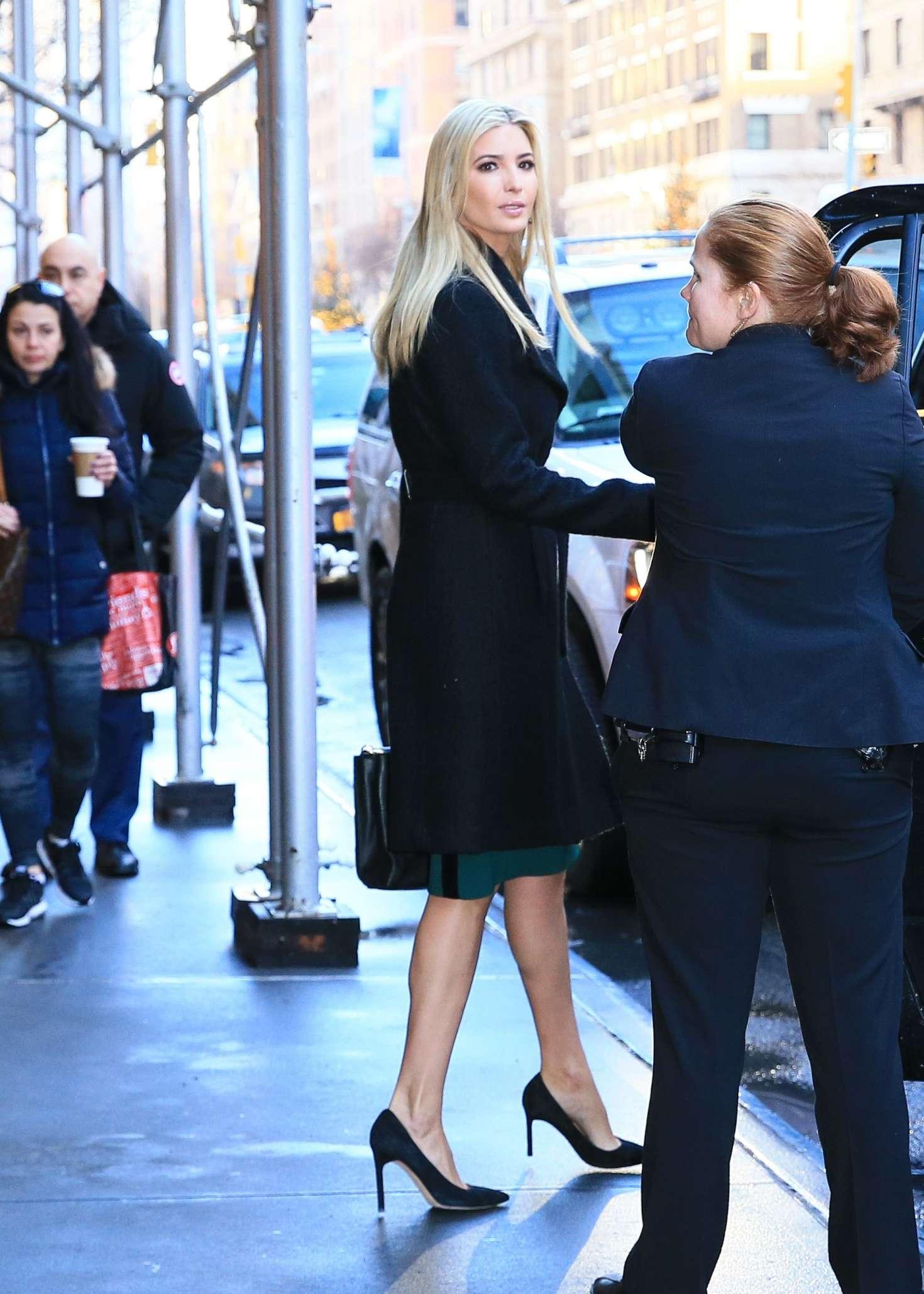 Ivanka Trump 2017 : Ivanka Trump: Heads To Work in New York -18