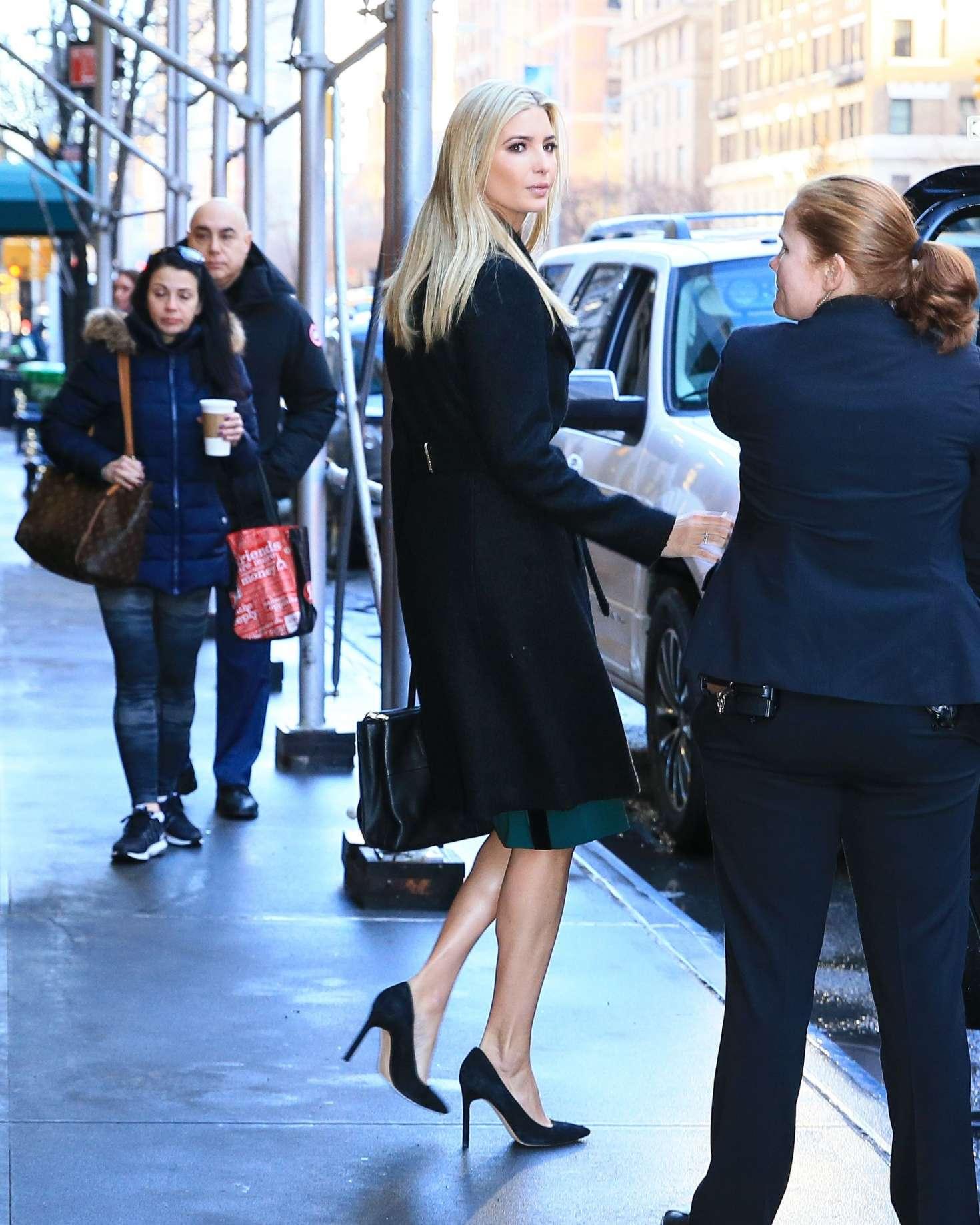 Ivanka Trump 2017 : Ivanka Trump: Heads To Work in New York -20
