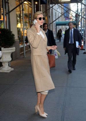 Ivanka Trump - Heads to work in New York