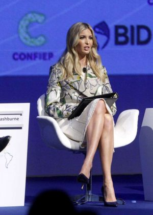 Ivanka Trump - III Summit of the Americas CEO in Lima