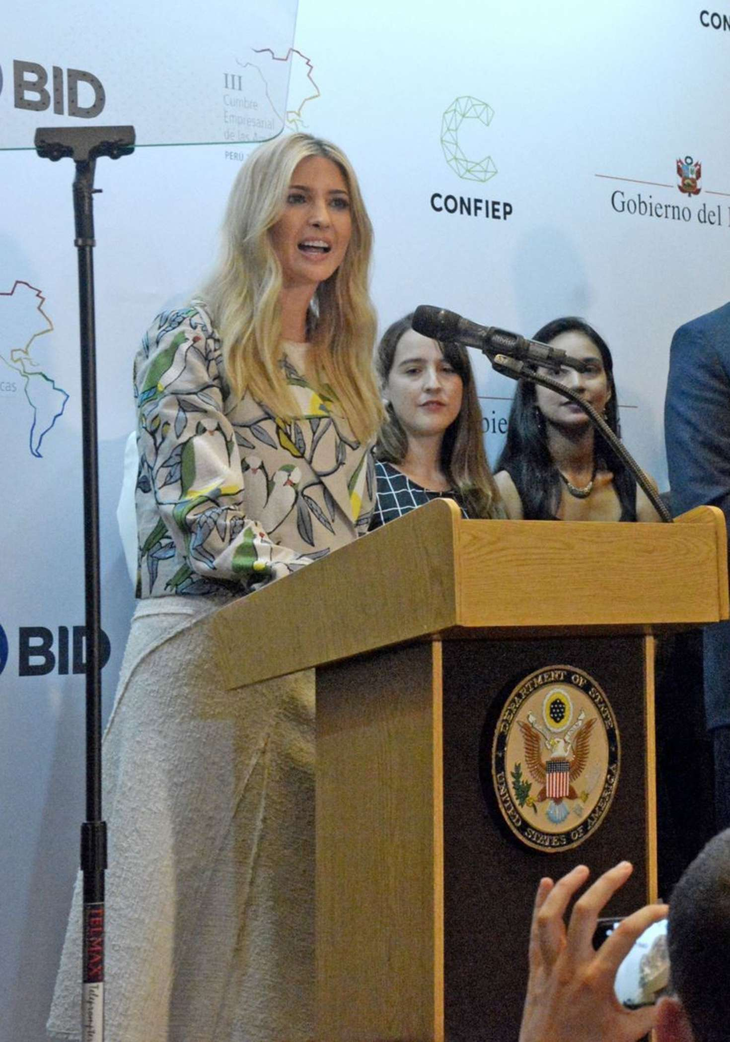 Ivanka Trump 2018 : Ivanka Trump: III Summit of the Americas CEO in Lima -12