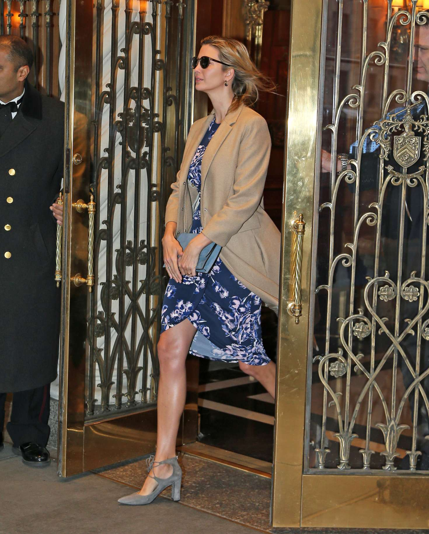 Ivanka Trump - Leaves her apartment in New York City