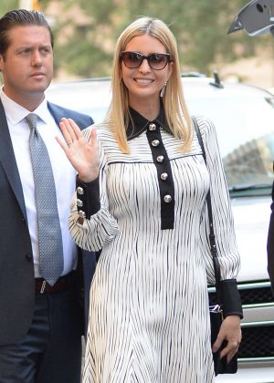 Ivanka Trump - Leaves Her Apartment in New York