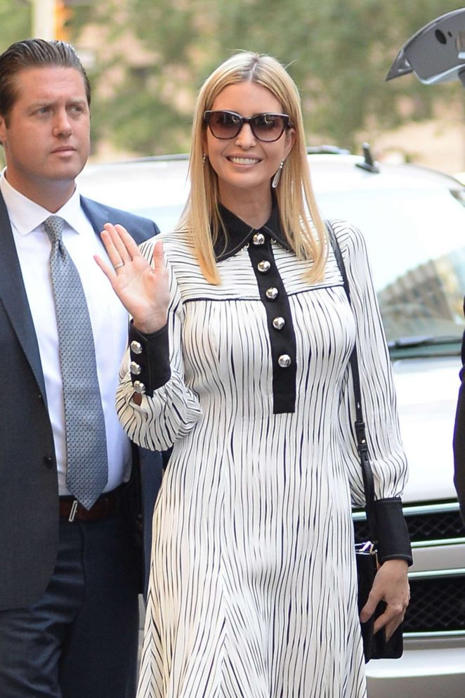Ivanka Trump – Leaves Her Apartment in New York