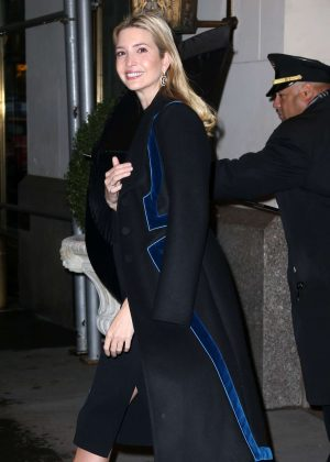 Ivanka Trump - Leaves her Home in New York City