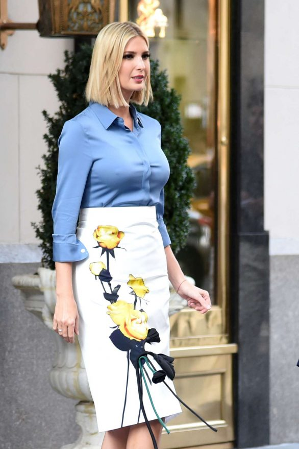 Ivanka Trump - Leaving her Hotel in Manhattan
