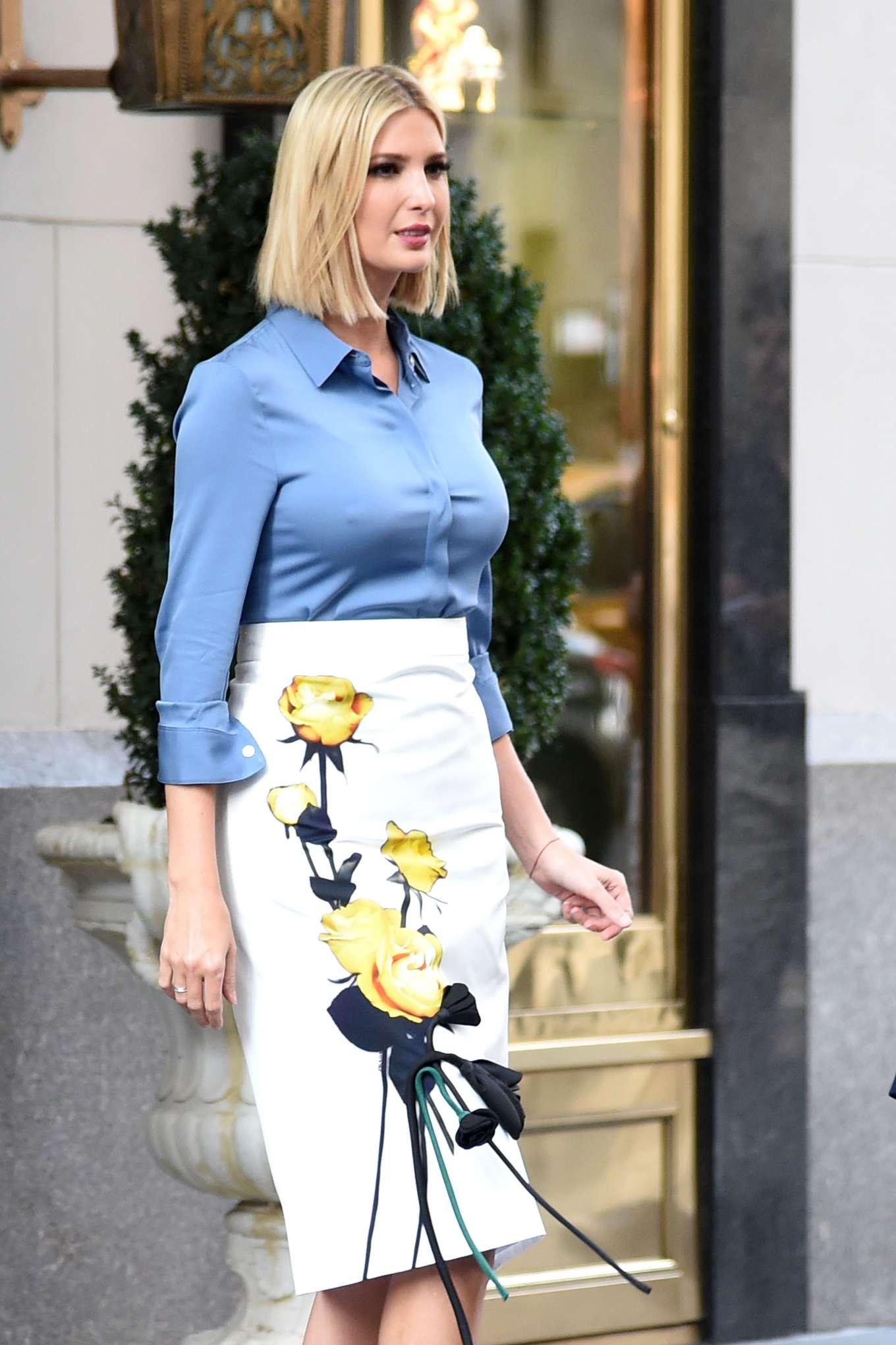 Ivanka Trump - Leaving her Hotel in Manhattan