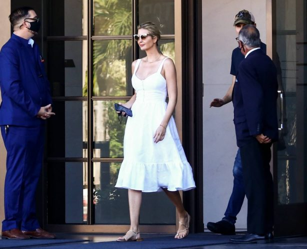 Ivanka Trump - Morning out in Miami
