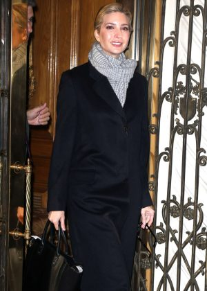 Ivanka Trump out and about in New York City