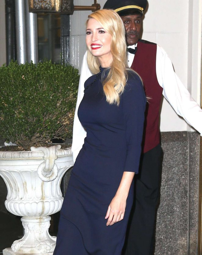 Ivanka Trump – Out and about in New York City