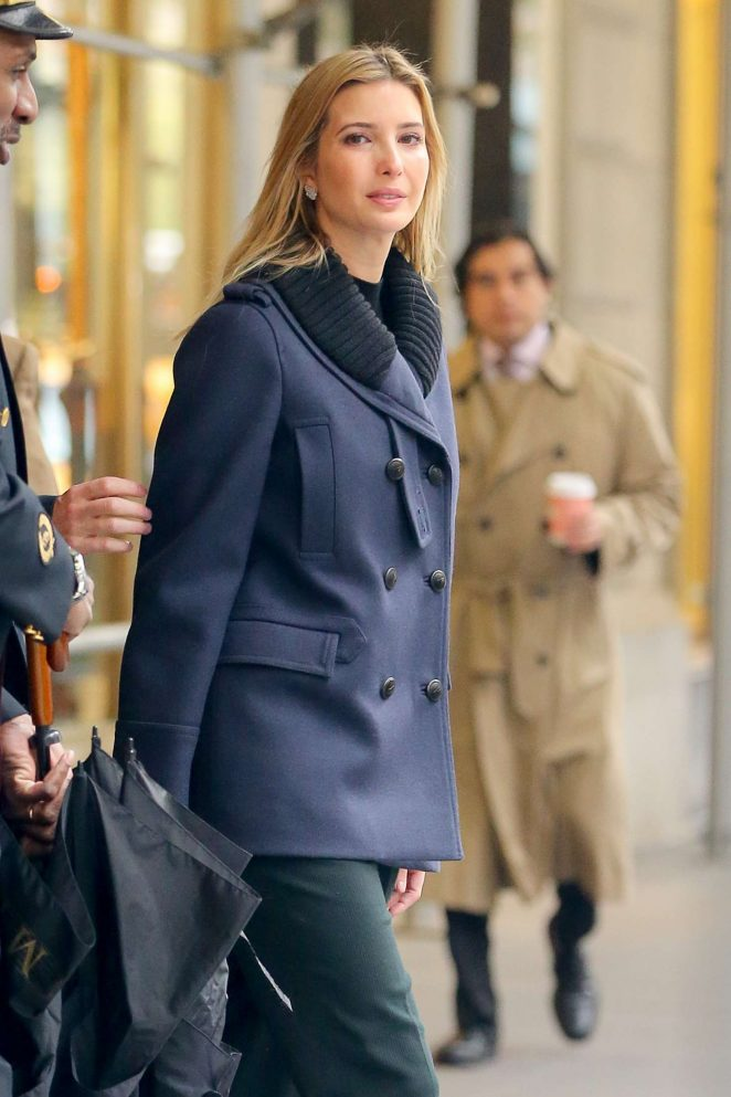 Ivanka Trump out in New York City