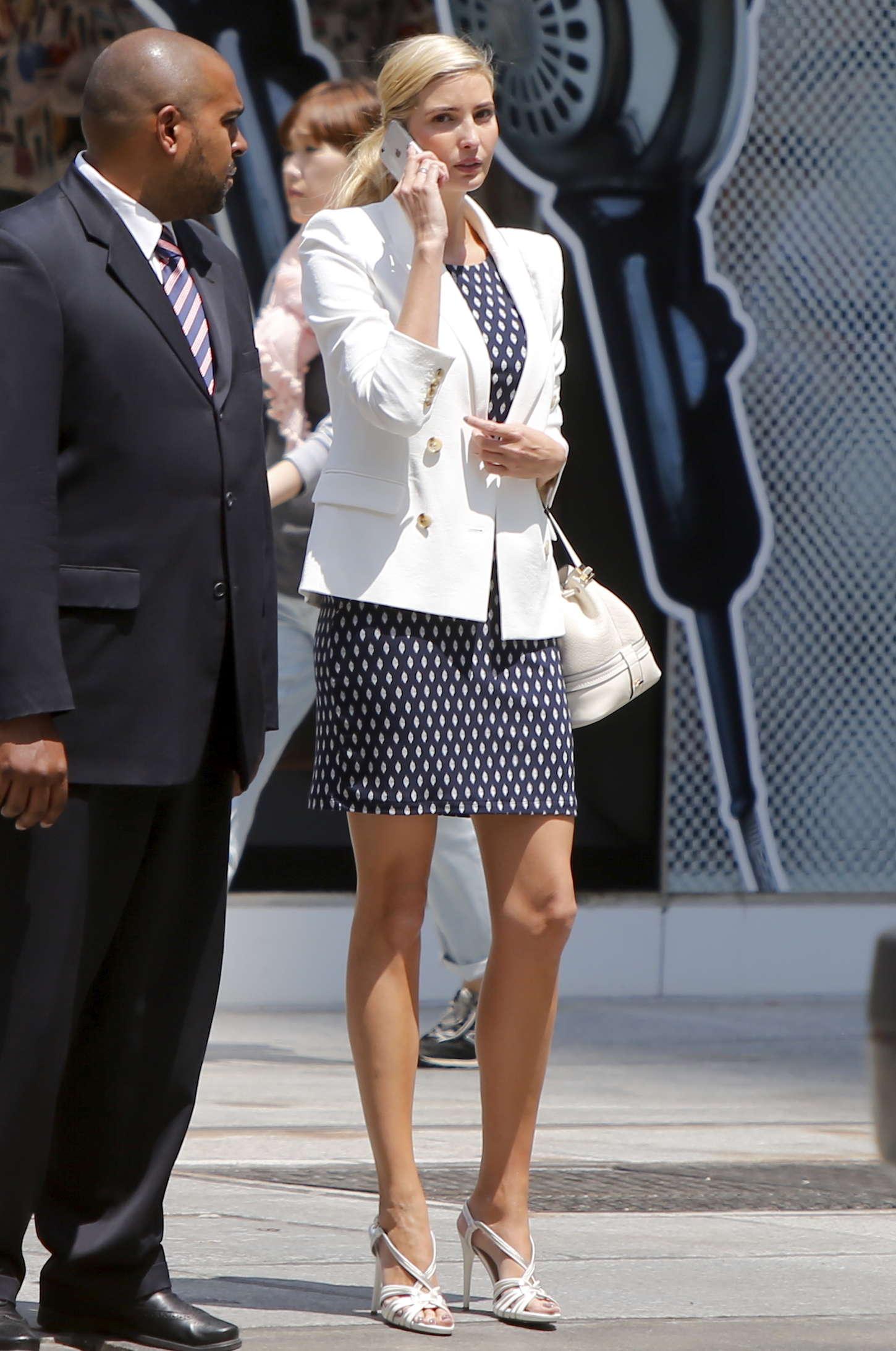 Ivanka Trump In Mini Dress 03 Gotceleb