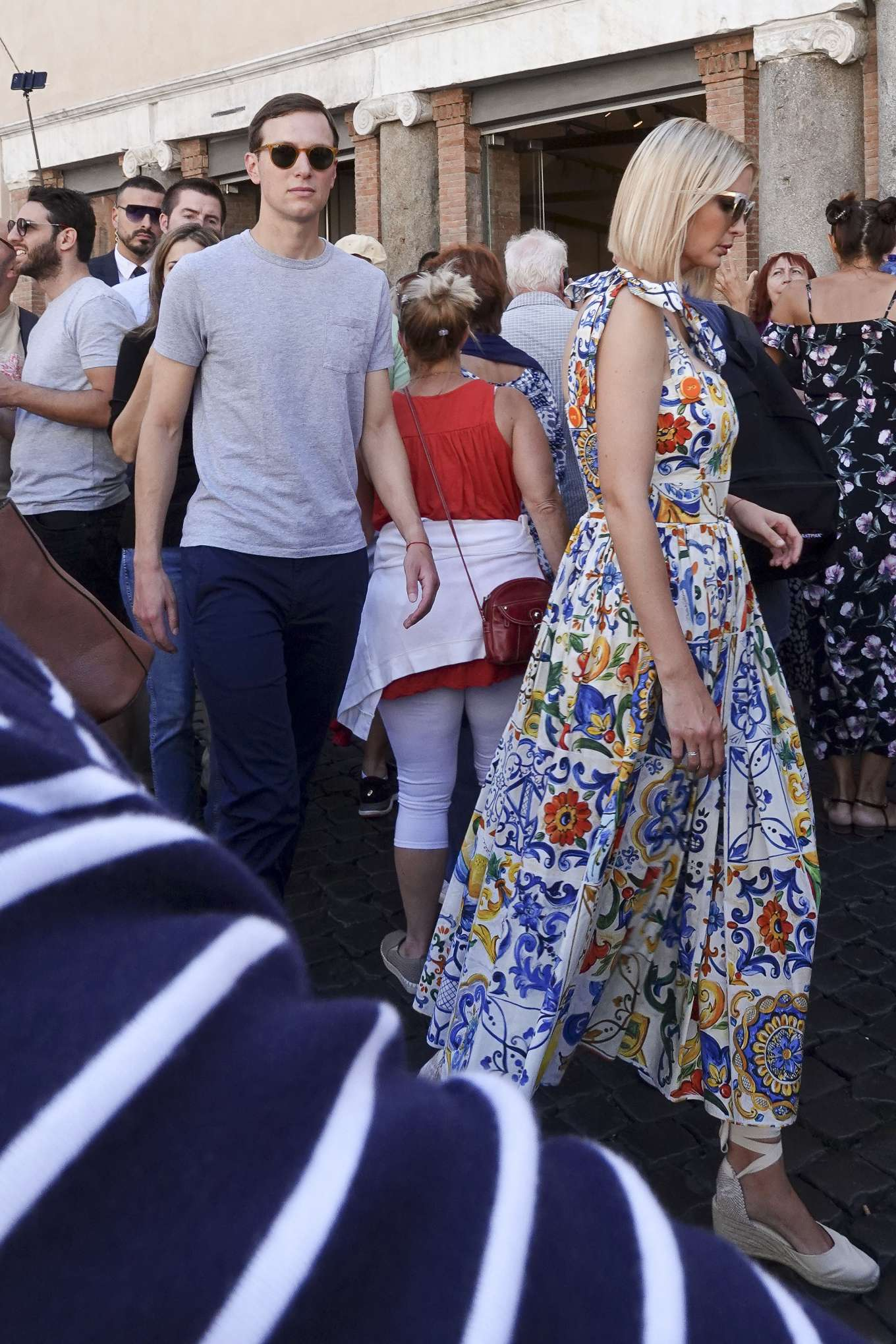 Ivanka Trump 2019 : Ivanka Trump – Out in Rome-15