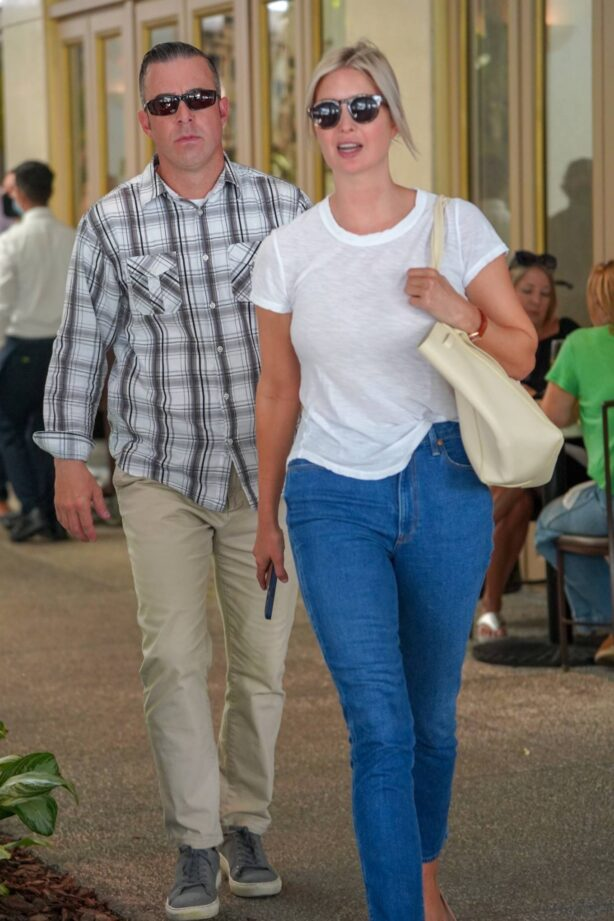 Ivanka Trump - Seen at Bal Harbour Mall in Miami