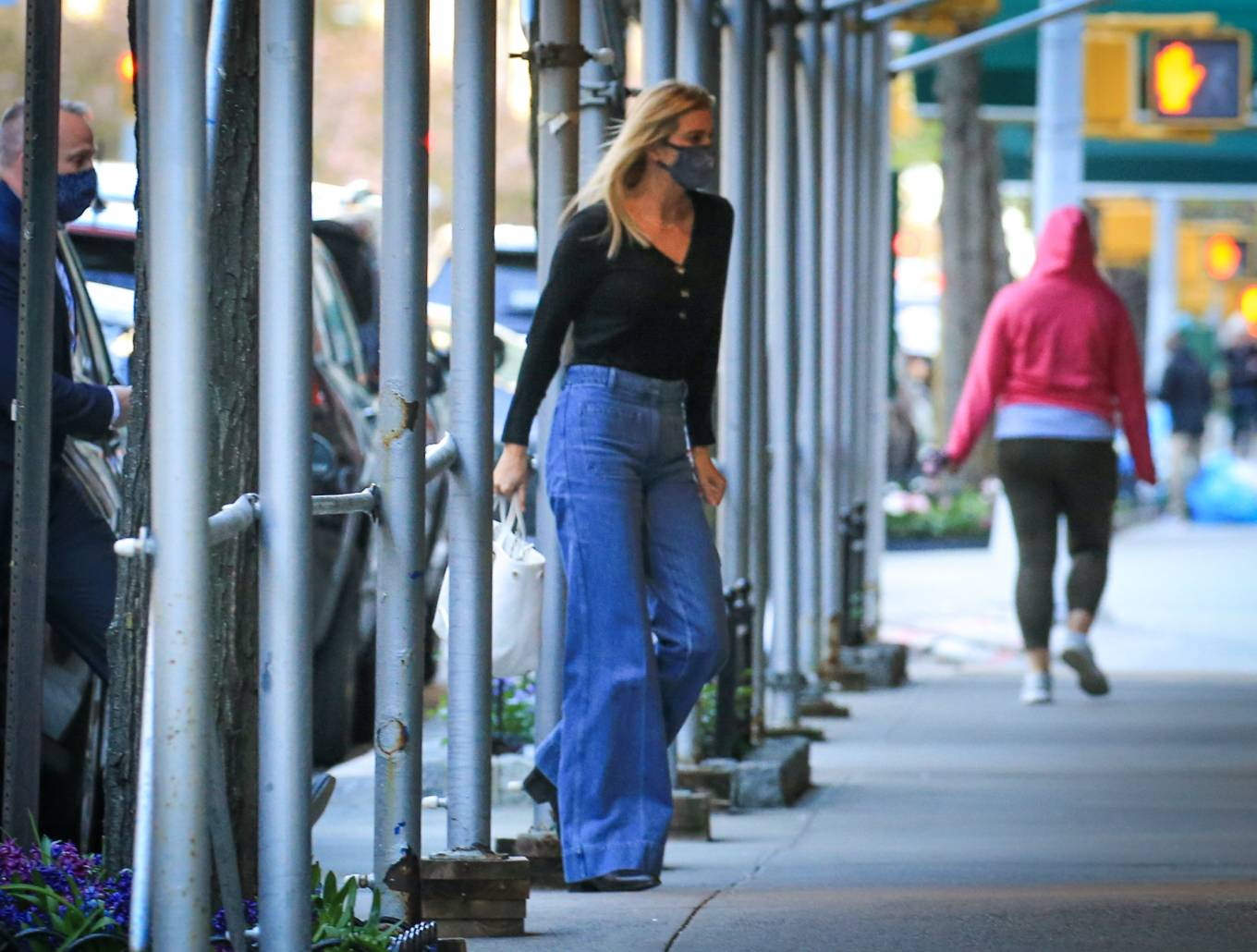 Ivanka Trump 2021 : Ivanka Trump – Seen in New York City whilst flanked by her Secret Service detail-02