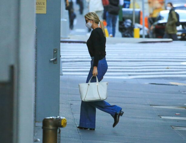 Ivanka Trump - Seen in New York City whilst flanked by her Secret Service detail