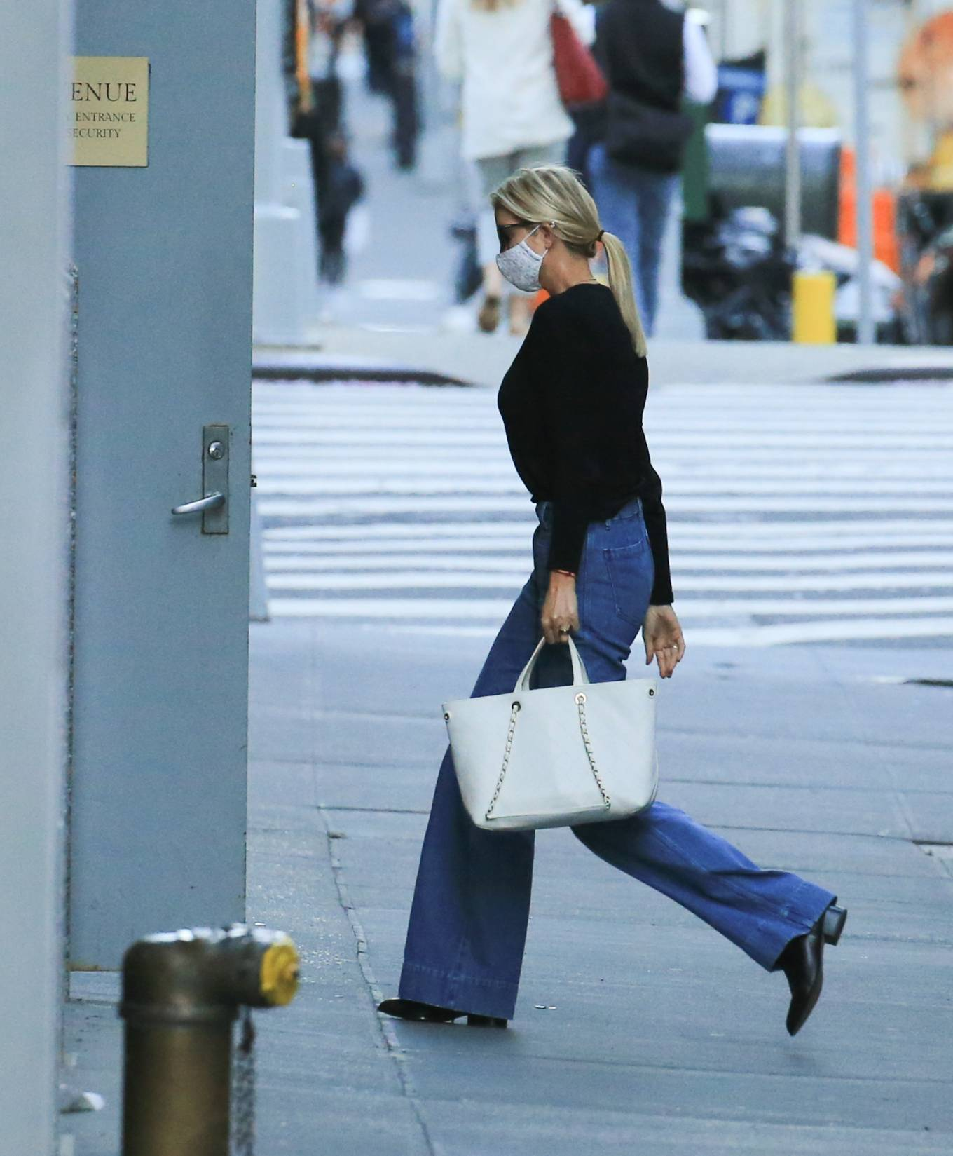 Ivanka Trump 2021 : Ivanka Trump – Seen in New York City whilst flanked by her Secret Service detail-05