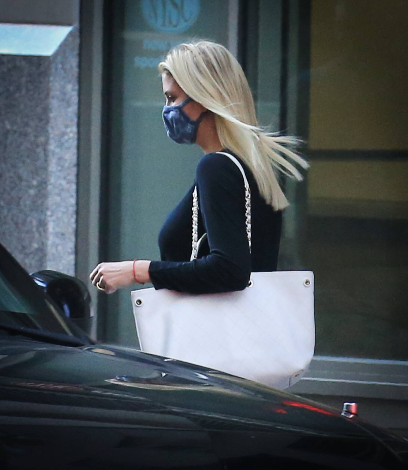 Ivanka Trump 2021 : Ivanka Trump – Seen in New York City whilst flanked by her Secret Service detail-14