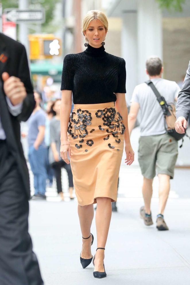 Ivanka Trump – Seen walking home in New York City