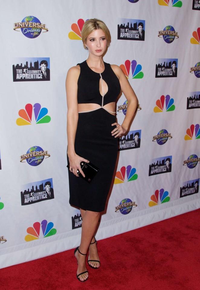 Ivanka Trump - The Celebrity Apprentice Finale in New York