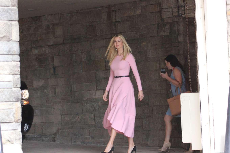 Ivanka Trump 2019 : Ivanka Trump: Wear pink dress as seen in Washington-01