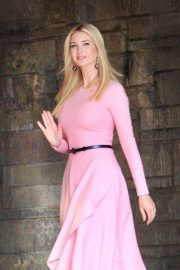 Ivanka Trump - Wear pink dress as seen in Washington