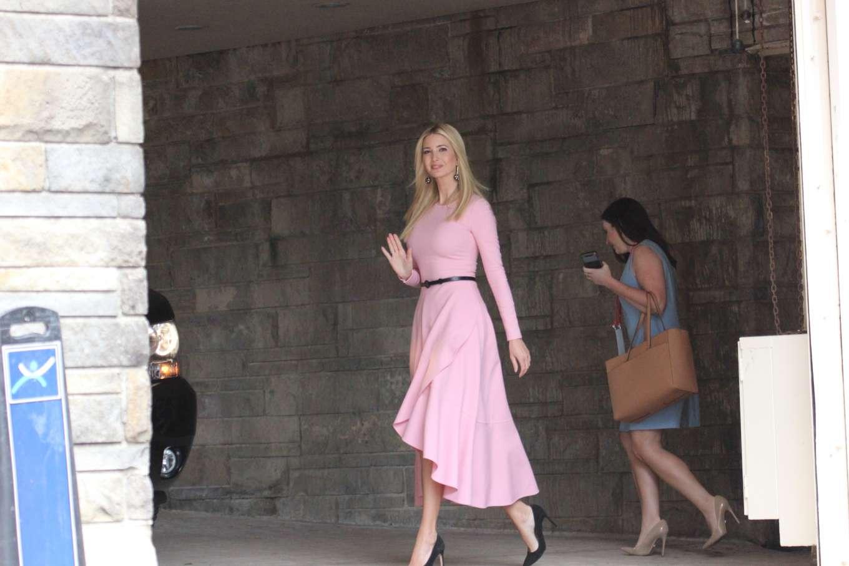 Ivanka Trump 2019 : Ivanka Trump: Wear pink dress as seen in Washington-04