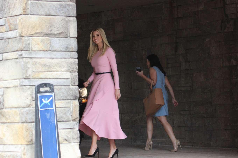 Ivanka Trump 2019 : Ivanka Trump: Wear pink dress as seen in Washington-05