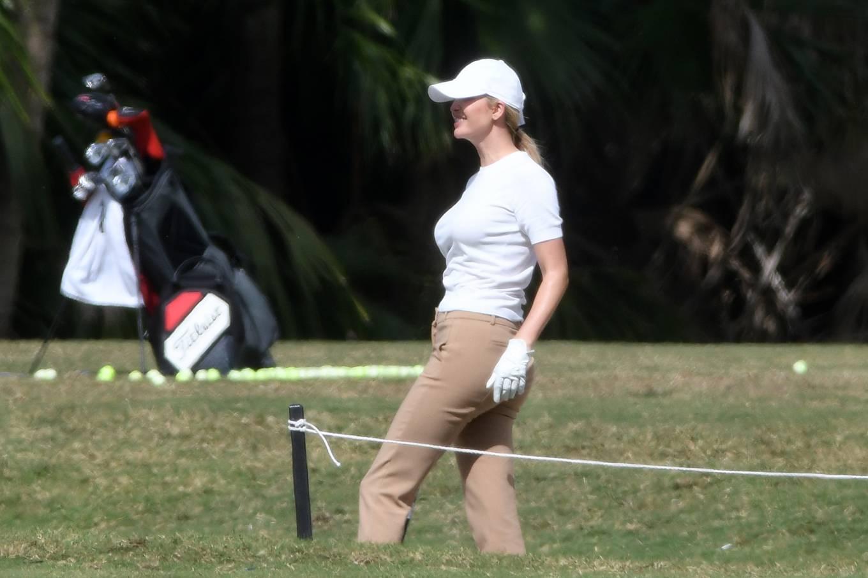 Ivanka Trump 2021 : Ivanka Trump – With her husband Jared Kushner golfing at Trump Doral in Miami-04