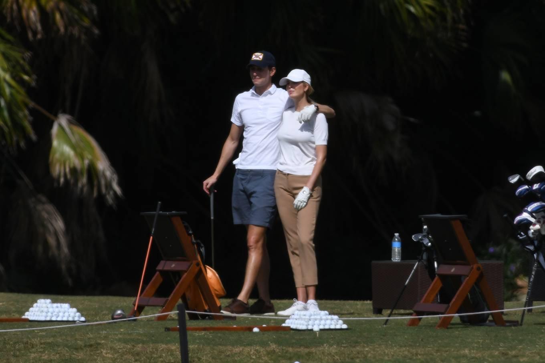 Ivanka Trump 2021 : Ivanka Trump – With her husband Jared Kushner golfing at Trump Doral in Miami-27