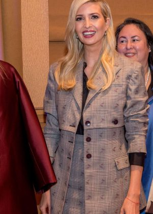 Ivanka Trump - 'Women Entrepreneurs Finance Initiative' in New York