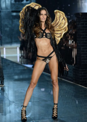 Izabel Goulart - 2015 Victoria's Secret Fashion Show Runway in NYC