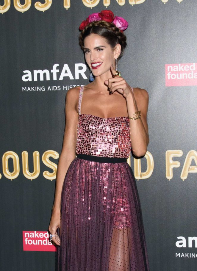 Izabel Goulart - 2017 amfAR Fabulous Fund Fair in NYC